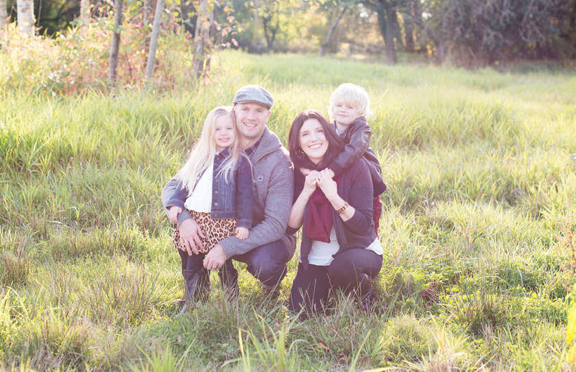 fall photography, fall family photos, vancouver family portraits
