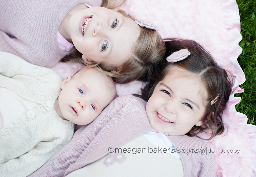 Newborn Photography With Sister