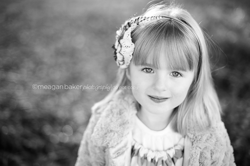 Black And White Images Little Girl