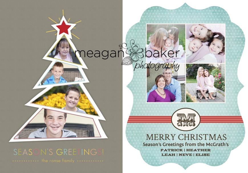 Holiday Card Ideas  Vancouver  Family Christmas Card Design