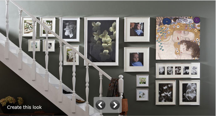 Sunday Showcase Staircase Gallery Wall Vancouver Child