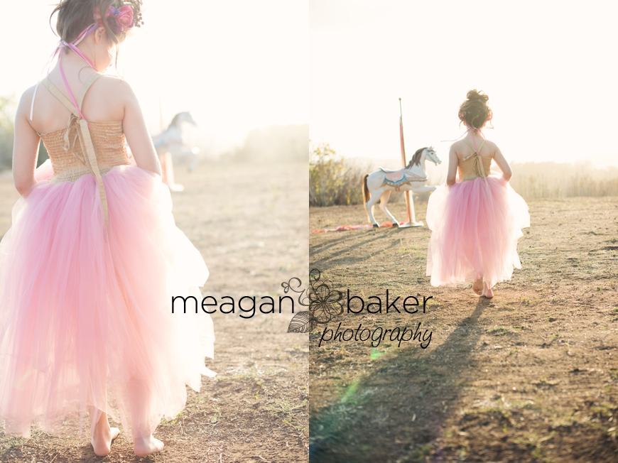 backlit portraits, photos with carosel horse, themed photo session, vancouver child photographer, meagan baker photography_0001