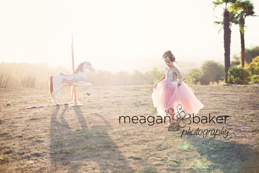 backlit portraits, photos with carosel horse, themed photo session, vancouver child photographer, meagan baker photography_0003